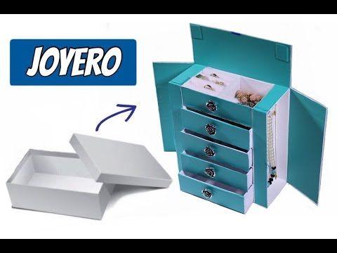 Youtube Caja De Zapatos Reciclar Cajas De Zapatos Muebles De Carton Reciclado