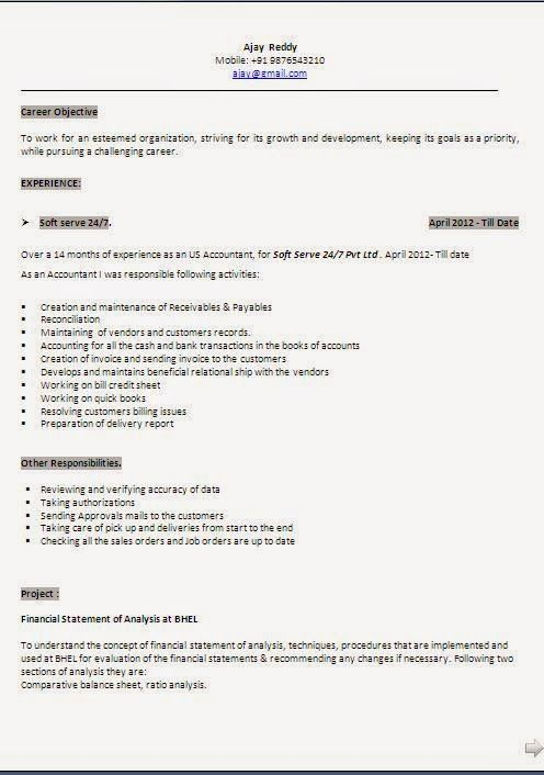 download sample resume Sample Template Example ofExcellent - profile statement for resume