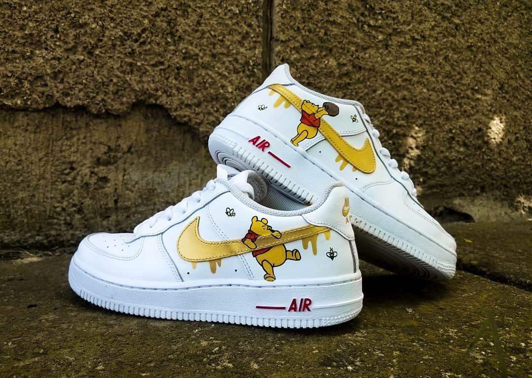 Winnie the Pooh Custom Sneakers