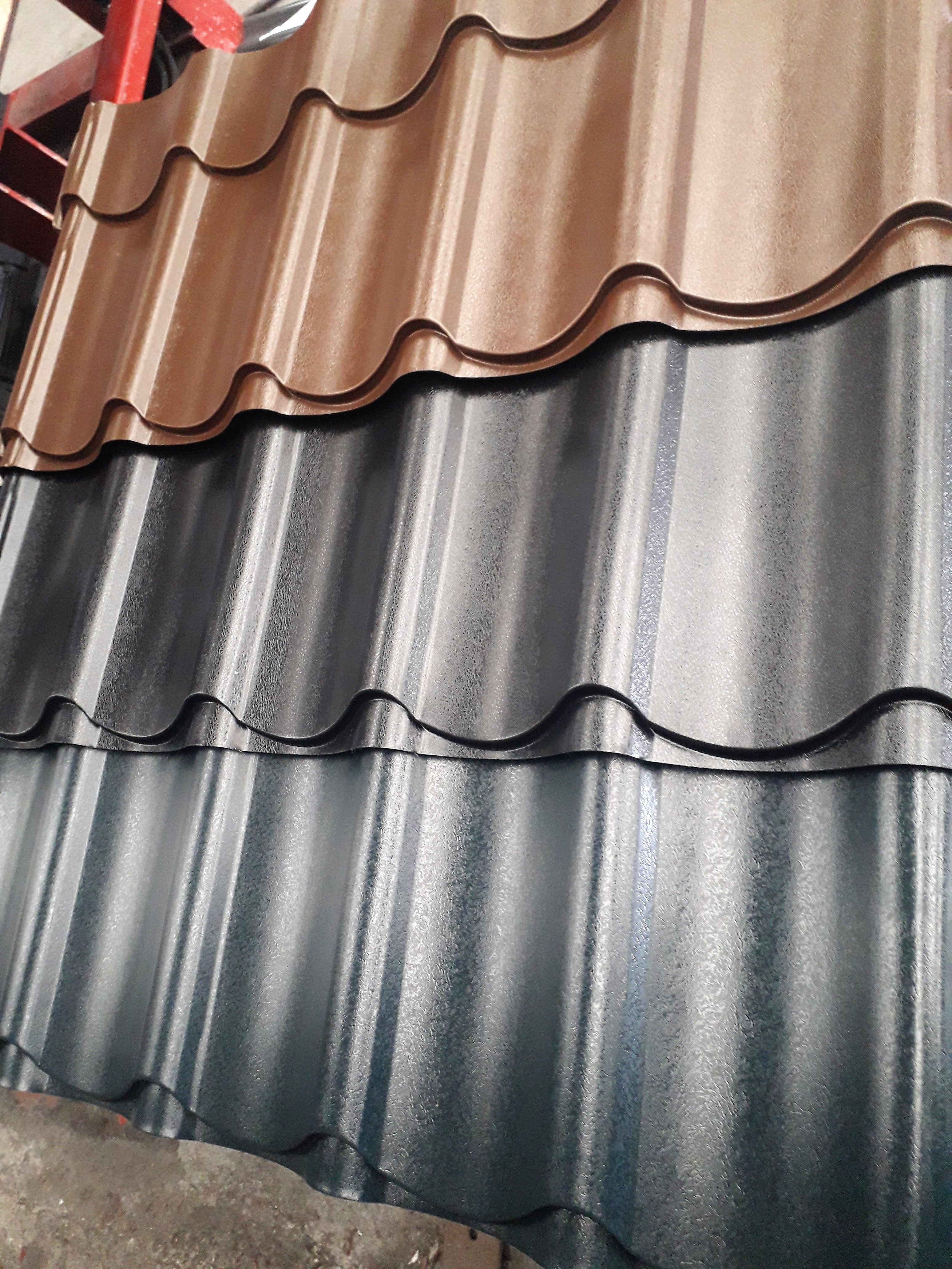 Tile Effect Cladding Gusclad In 2020 Cladding Roof Cladding Tile Cladding