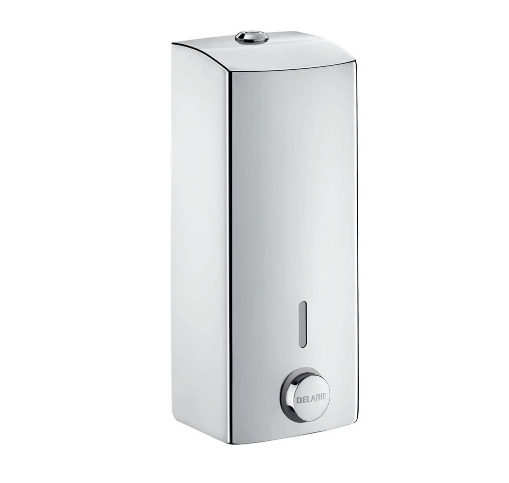 Commercial Liquid Soap Dispenser Wall Mounted Stainless Steel 510580 Delabie Wall Mounted