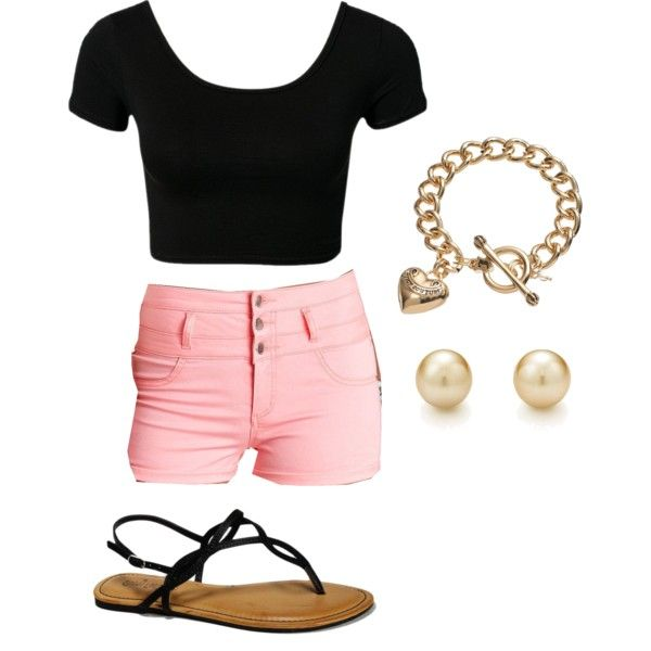 at the beach. by heather-marie97 on Polyvore featuring polyvore, fashion, style, Charlotte Russe, Bamboo, Tiffany & Co. and Juicy Couture