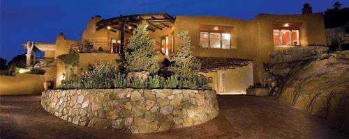 santa fe home design. Santa Fe Adobe Design  The Crescent House crescent night Arquitetura Pinterest