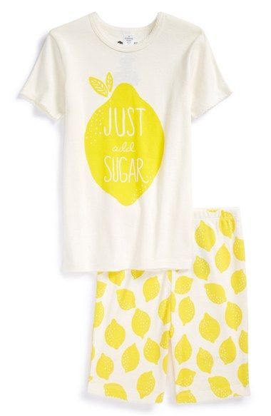 Tucker + Tate Sleep Tee & Shorts (Toddler Girls, Little Girls & Big Girls) available at #Nordstrom