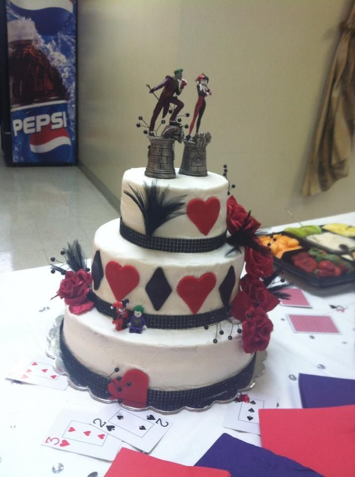 Harley Quinn Wedding Cake Google Search Harley Quinn