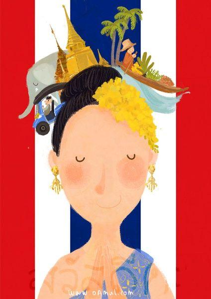 Sawasdee ka (cuando habla una mujer) se utiliza para saludar en tailandés. El wai es el nombre que recibe el saludo tailandés, que consiste en unir las palmas de las manos e inclinar ligeramente la cabeza.