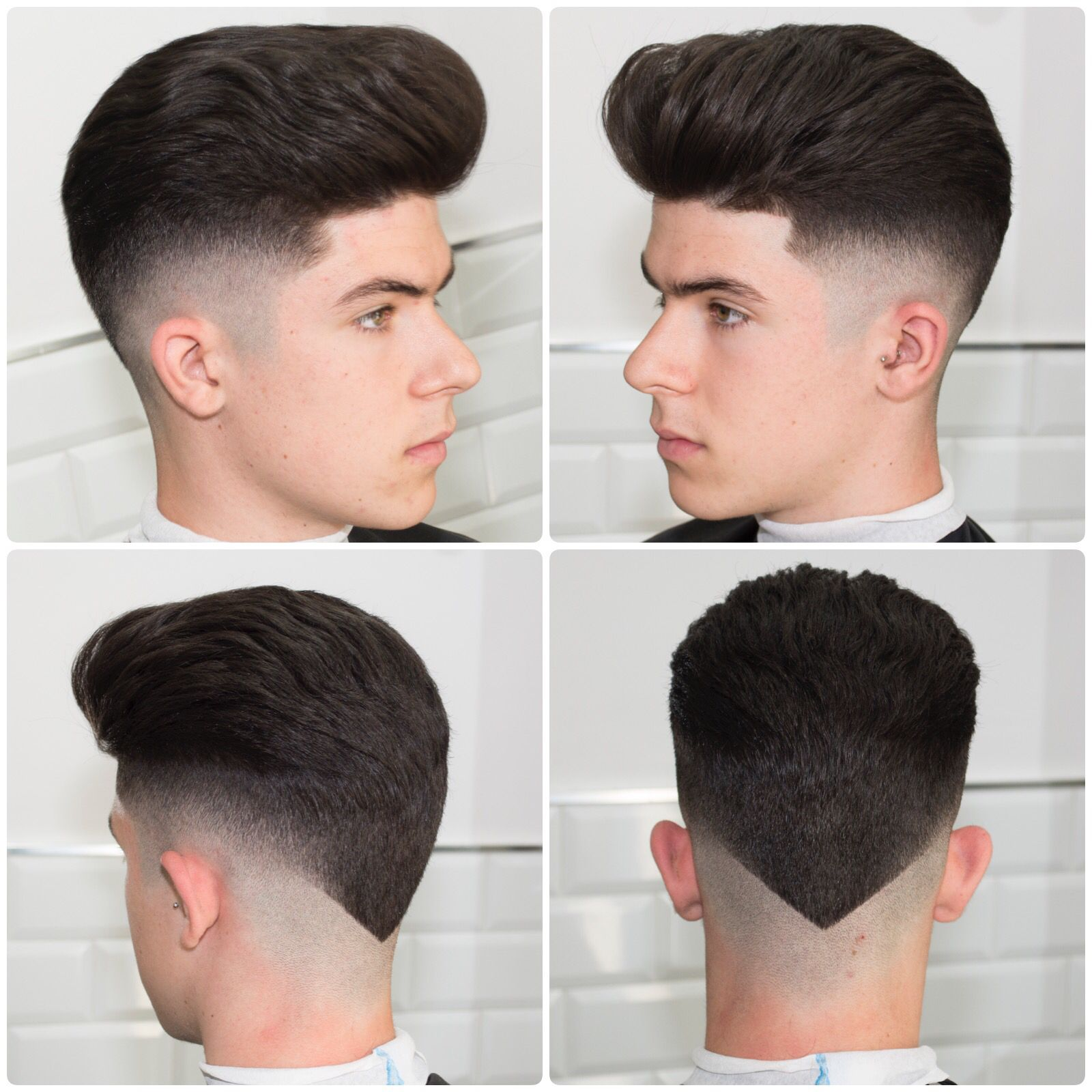 Haircut And Hairstyle By Javi Thebarber Short Hair Haircuts Hair Styles Mens Hairstyles Thick Hair
