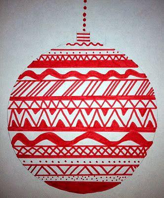 Joulupallo ornamentein