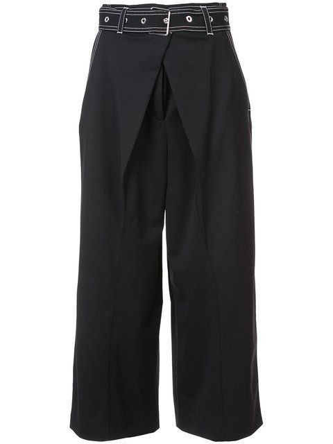 wide-leg trousers - Black Proenza Schouler Very Cheap Online Extremely Online Prices Cheap Price Store Sale Cheap Sale Store TvK8G7b