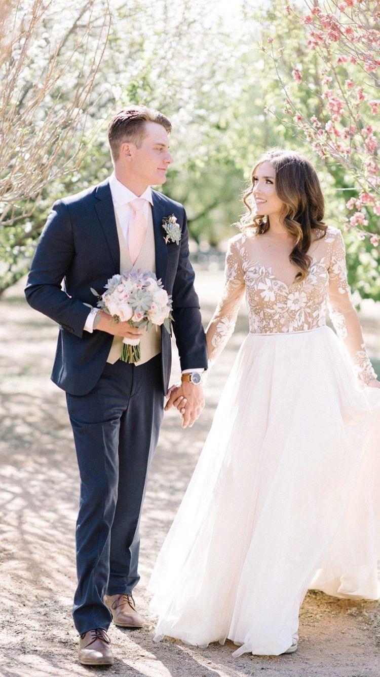 Arizona garden wedding hayleypaige remmington gown wedding