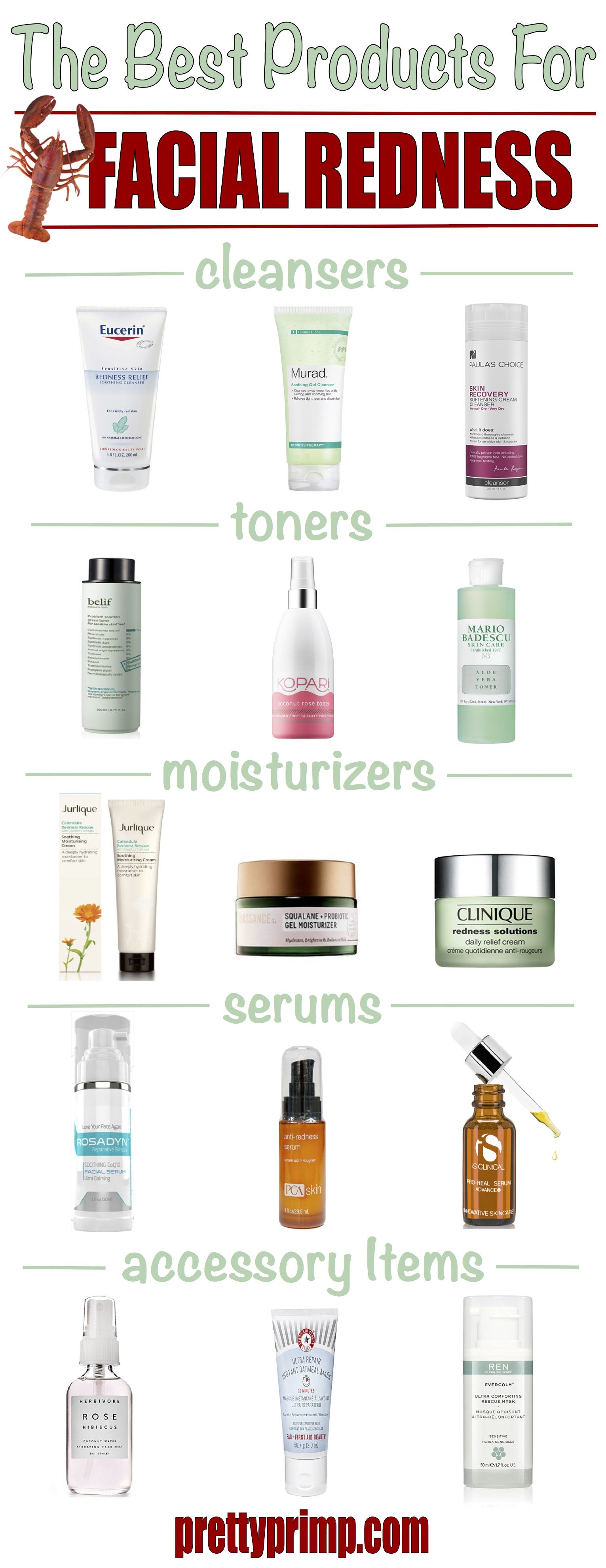 The Best Skincare Products For Sensitive Skin Redness And Rosacea In 2020 Moisturizer For Sensitive Skin Best Skincare Products Affordable Skin Care