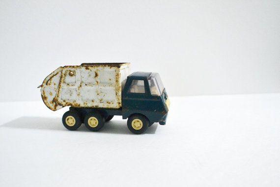 Tonka Garbage Truck Vintage Rusty Vintage Toy Make Do