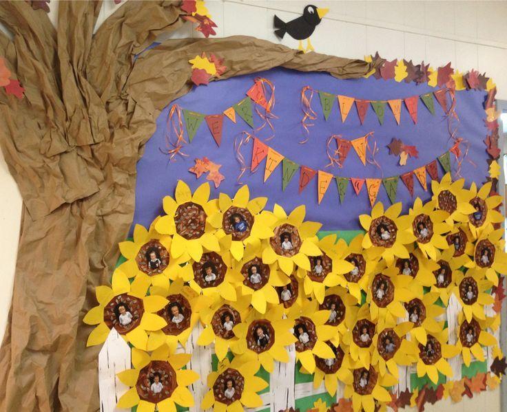 Yellow Classroom Decor : Tissue paper pom pom sunflowers pesquisa do google ajtó ablak