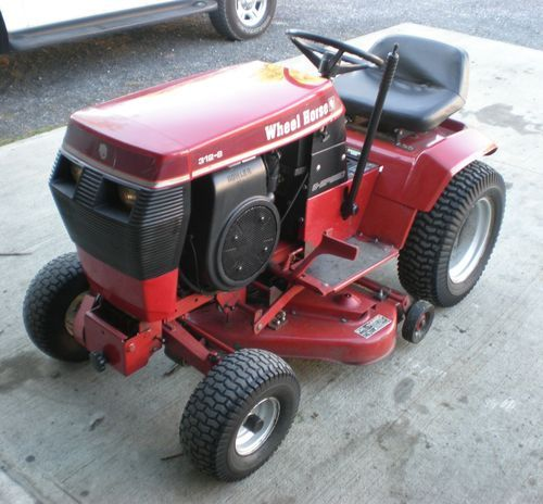 Toro Wheel Horse 312 8 Garden Tractor With 36 Mower Deck Ebay