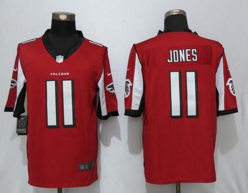 22 Atlanta Falcons  11 Julio Jones Red Team Color Men s NFL Limited Nike  Stitched Jersey 3c67f76d1