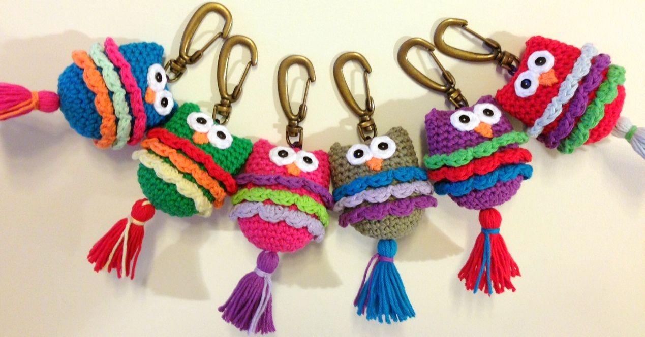 llaveros al crochet - Buscar con Google   trang trí   Pinterest ...