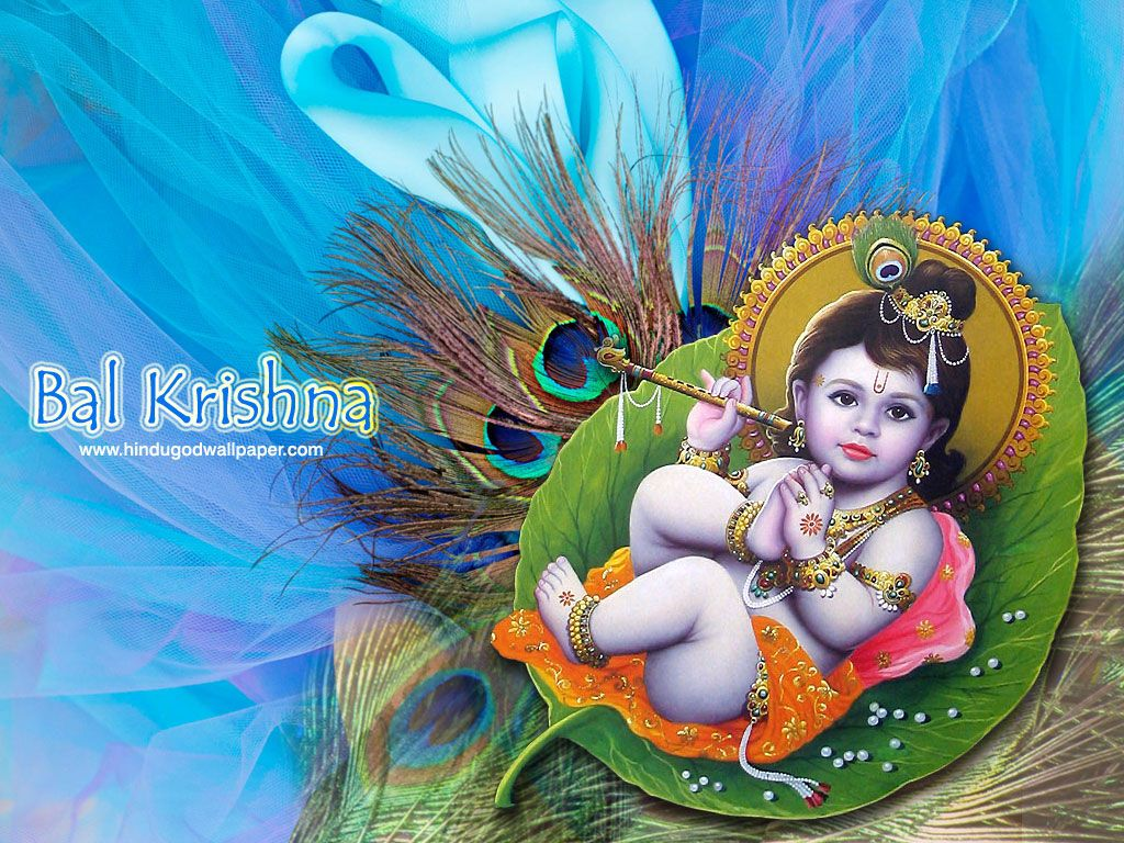 Beautiful Lord Krishna Childhood Wallpapers Download