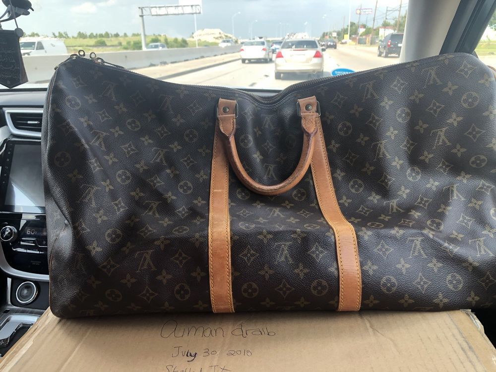 Louis Vuitton Keepall 60 No Strap Fashion Clothing Shoes