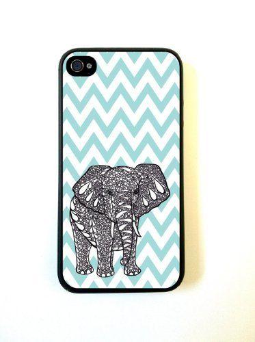 Tiffany Blue Chevron Elephant iPhone 4 Case - For iPhone 4 4S 4G by wholesale center, http://www.amazon.com/dp/B00DNUBJ4U/ref=cm_sw_r_pi_dp_21ftsb1TJZ9DE