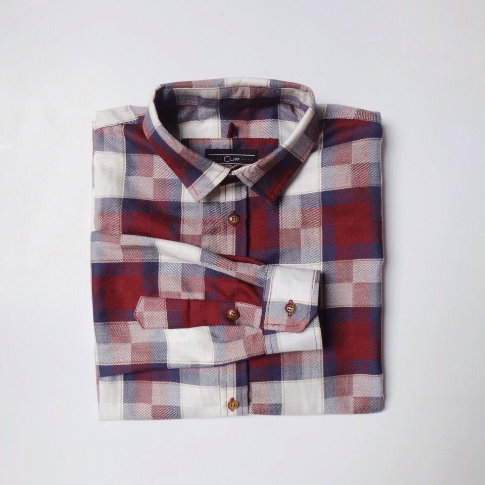 Flannel shirt with khaki pants  Longsleeve Cotton Plaid Shirt  u Details  Fabric Cotton Colour