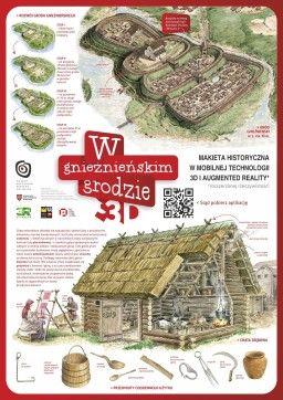 znacznik do aplikacji Gniezno 3D | ^ https://de.pinterest.com/katarzyna2688/powstanie-polski/