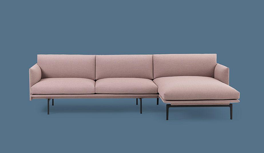 Outline Sofa Chaise Longue By Muuto Sofa Chaise Sofa Muuto Sofa