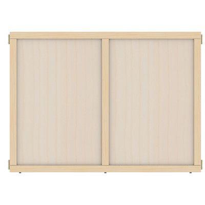 "Jonti-Craft KYDZ Suite Plywood Chalkboard Size: 35.5"" x 48"""