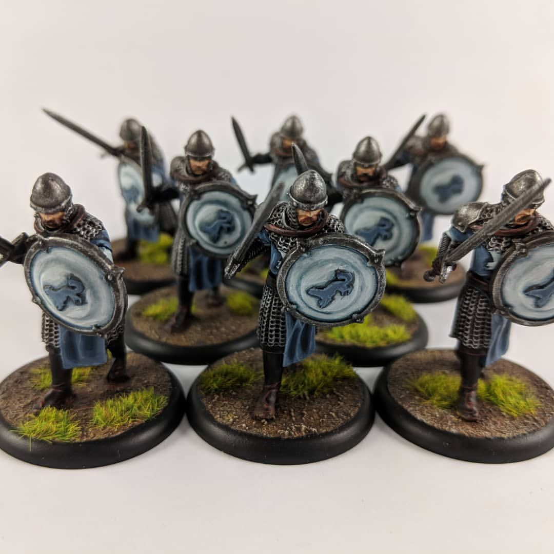 Danieltheyoung A Song Of Ice And Fire Fantasy Miniatures