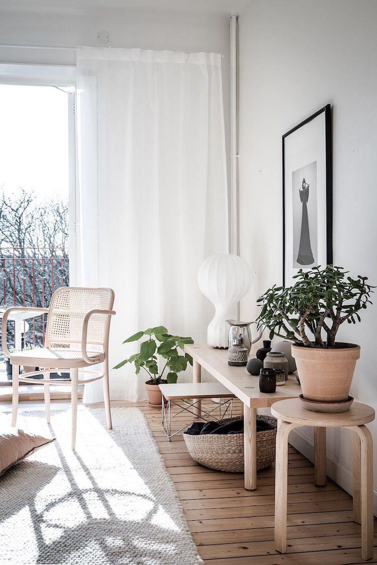 La tendance Lagom offre un cadre épuré dans le salon | Déco salon ...