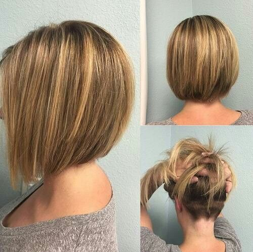 Bob Haircut With Unique Back View Make Your Hair Lightweight And