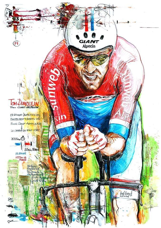 Tom Dumoulin wins ITT Stage 13 Tour de France 2016 by