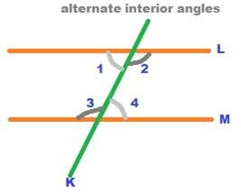 The four angles numbered and are called interior also rh in pinterest