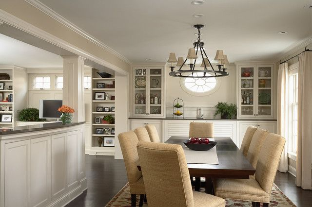 Remodel Dining Room Interior Decoration Very Nice Transition From Kitchen To Family