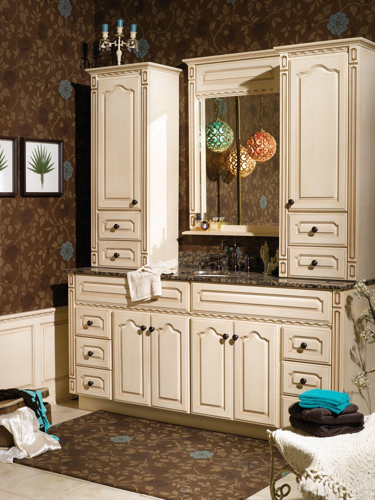 Bordeaux Birch Ivory Bertch Bathroom Cabinetry Vanities - Bertch bathroom vanity