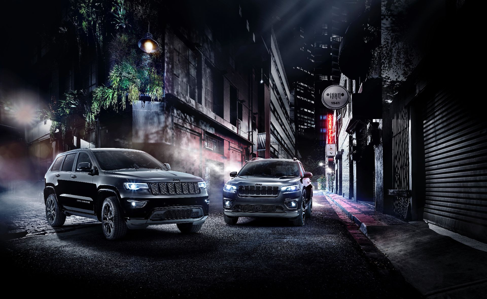 Jeep Grand Cherokee And Cherokee Join The Dark Side With Night