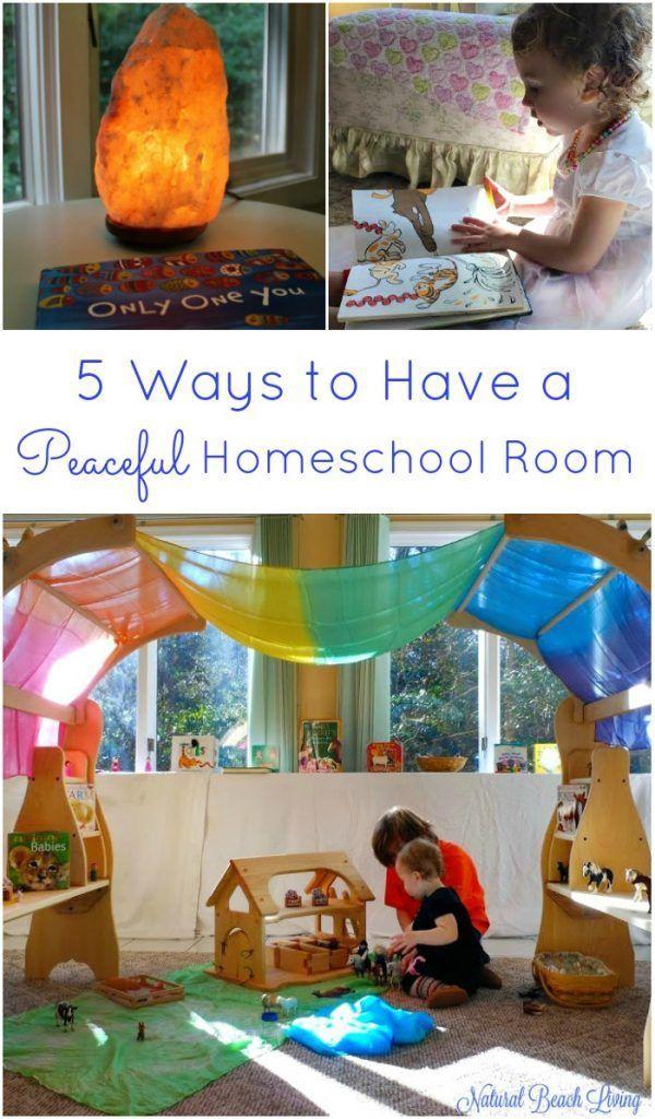 5 Ways To Have A Peaceful Homeschool Room Homeschool