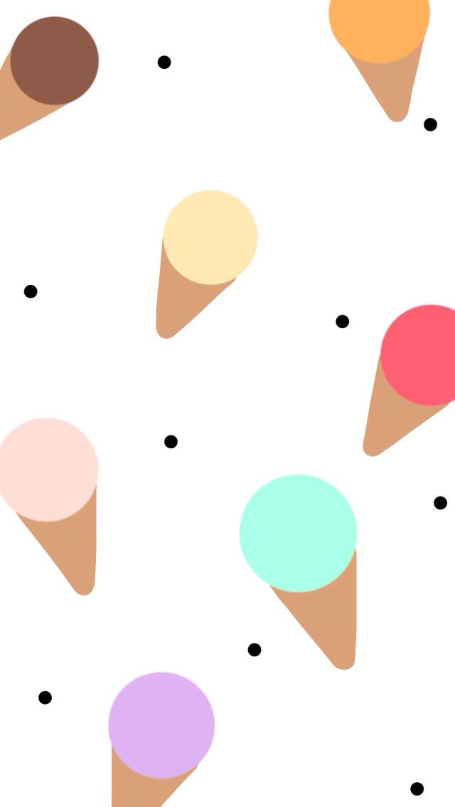 Iphone Wallpaper Ice Cream Cones Iphone 5s Wallpaper Iphone Wallpaper Phone Background Wallpaper