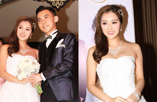 3ac162383b7f Miss Hong Kong 2012 winner, Carat Cheung, is reportedly pregnant which  prompted…