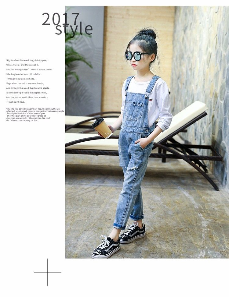 da8f052e0 F17928#2017 Latest Fashion Top Design Spring Autumn Leisure Broken Soft  Jumpsuit Denim China Wholesale