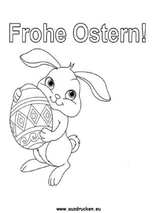 Ausmalbild Frohe Ostern Karte Zum Ausmalen Ausmalbilder Malvorlagen Ostern Osterhase Kinde Frohe Ostern Ausmalbilder Ostern Ostern Zum Ausmalen