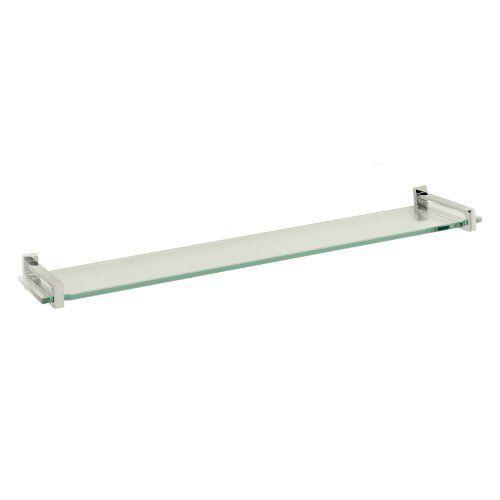 Motiv 3018T24PC Frame Tempered Glass Bathroom Shelf * You can get