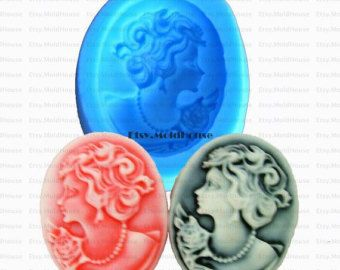 Beauty Head Flexible Silicone Mold Silicone Mould by MoldHouse