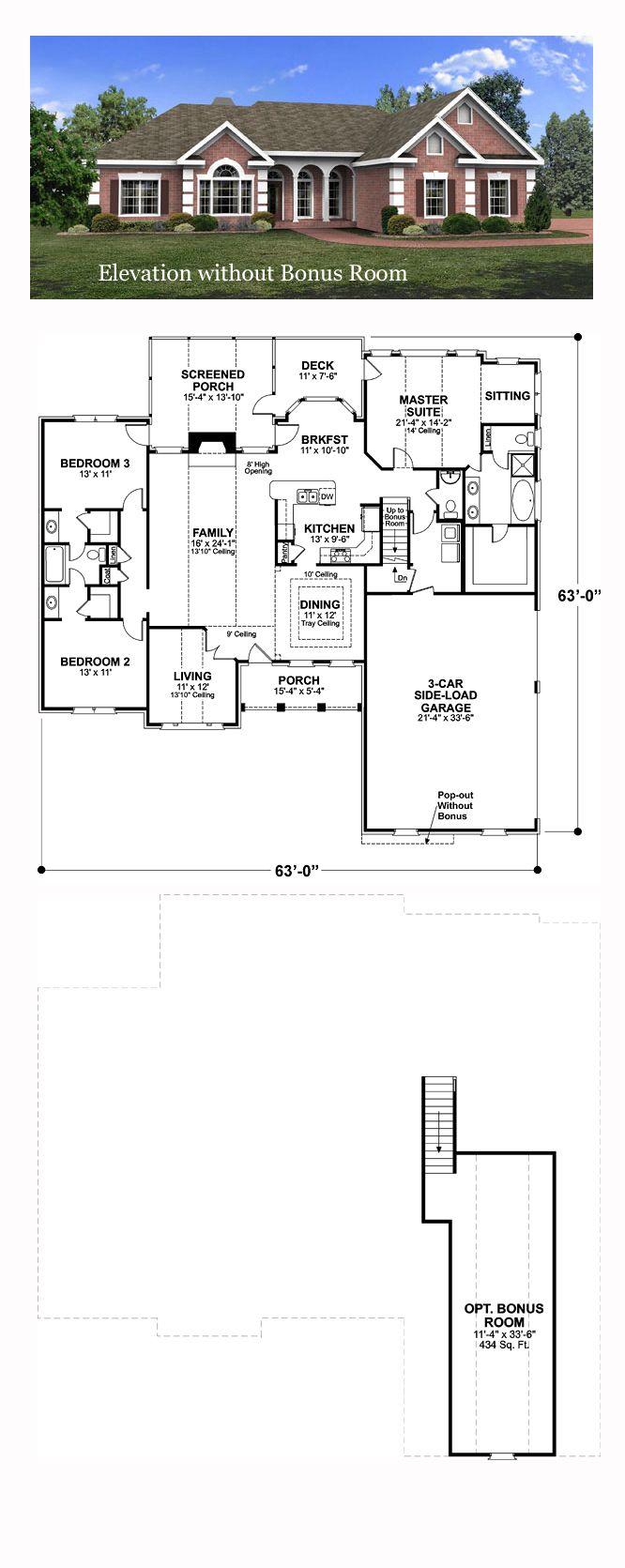 European Style COOL House Plan ID chp