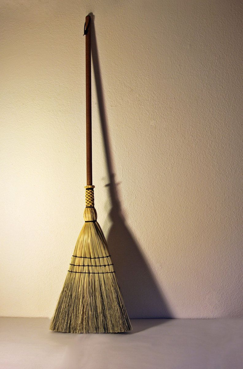 Sweep the kitchen floor - Shaker Floor Broom Hand Made Broom Corn Traditional Woven Sweep Kitchen Porch Floor Besom