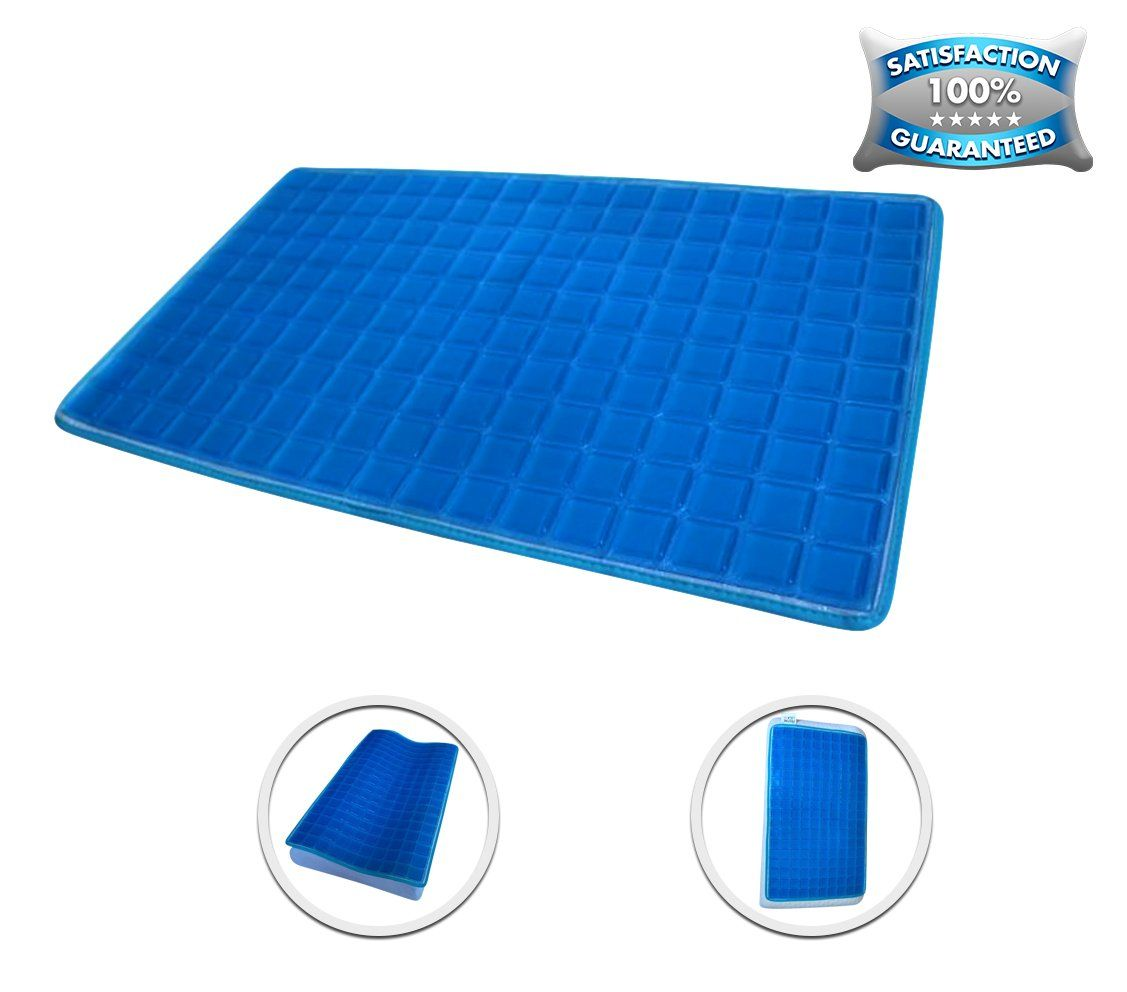 New Luxury Gel Cooling Pad On Sale 12 6 X 22 8 Best Cooling Mat