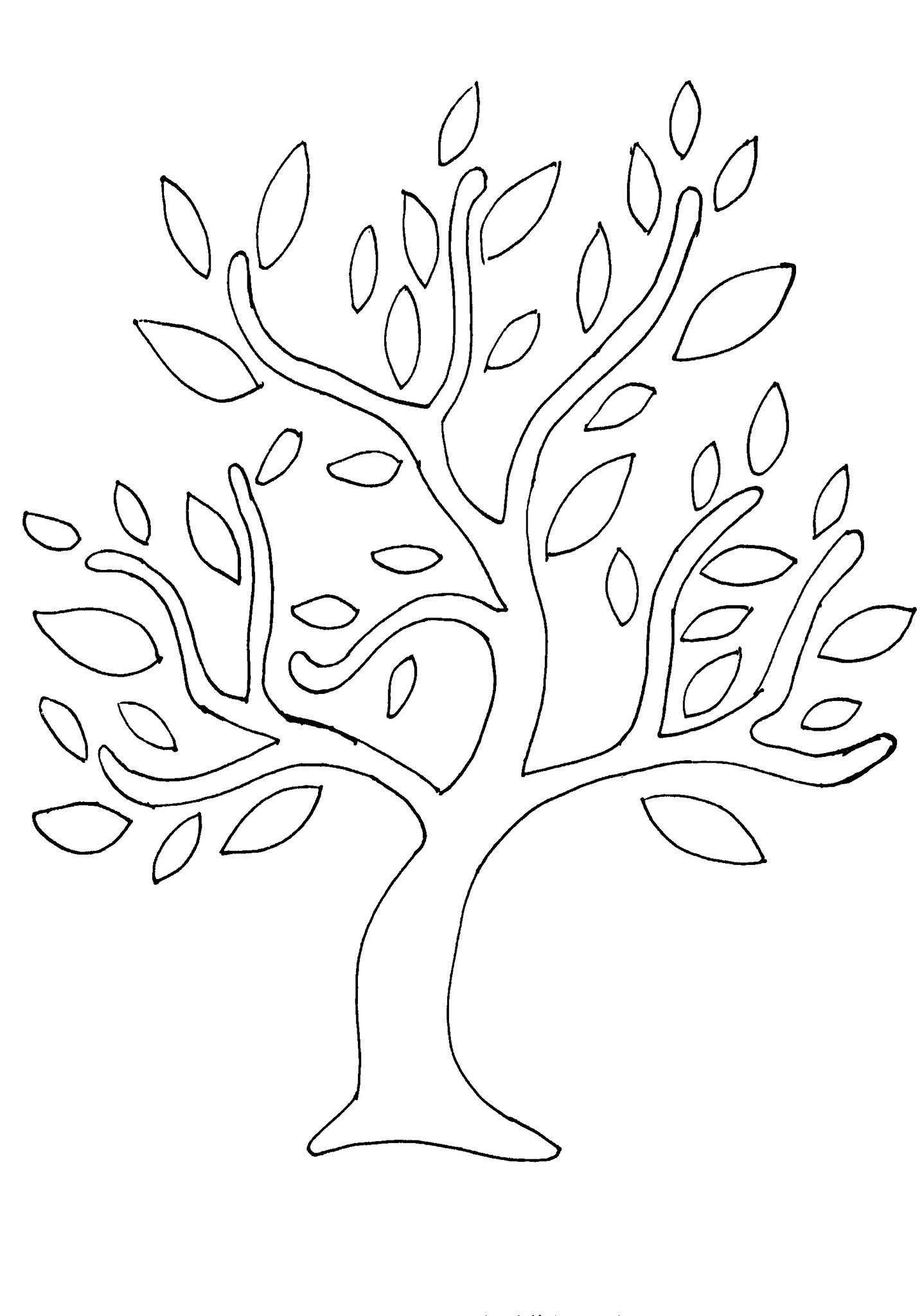 Картинки дерево для вырезания