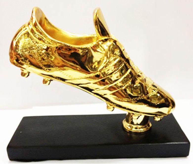 1 1 Size Football Golden Boot Shoe Trophy Replica The Golden Boot Award Football Shoes Fans Souvenir Football Shoes Golden Shoes Shoe Boots