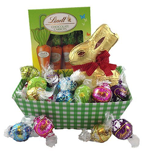 Authentic happy easter lindt bunny carrots truffles chocolate authentic happy easter lindt bunny carrots truffles chocolate gift basket small negle Choice Image