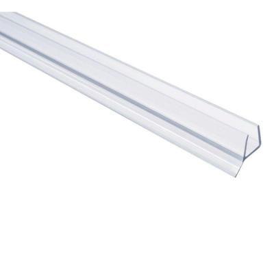 Captivating L Frameless Shower Door Seal For 3/8 Glass, Clear