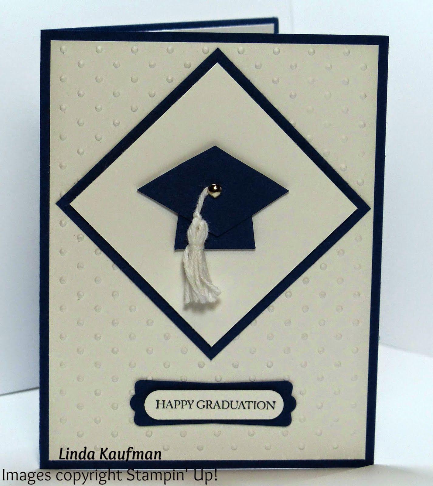 Linda K's Stampin' Page: Graduation Card DoStamperSTARS Thursday Challenge 085